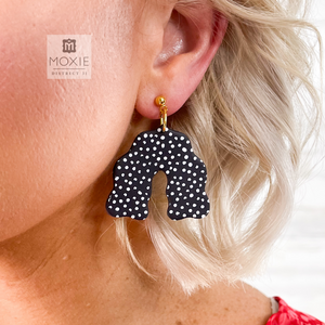 Dottie World Clay Earrings