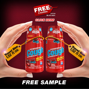 FREE 2 Bottles Sample - just pay $6.49 S&H