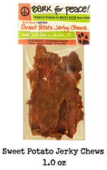 Sweet Potato Jerky Chews