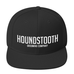 Houndstooth Classic Snapback - Houndstooth Grooming Company