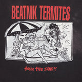 1990s Beatnicks Termites Black Band Tee - F as in Frank TO