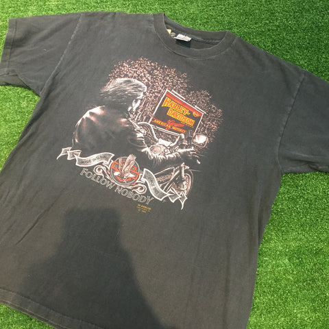 1989 Harley Davidson T-Shirt - F as in Frank TO