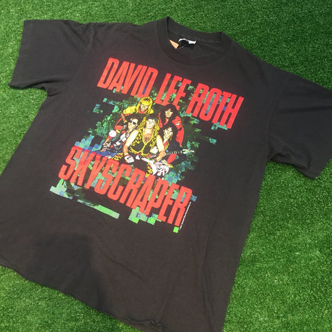 1988 David Lee Roth Skyscraper Tour - F as in Frank TO