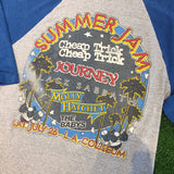 "1980 Journey ""Summer Jam LA Coliseum"" T_Shirt - F as in Frank TO"