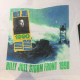 "1990 Billy Joel ""Storm Front Tour"" T-Shirt - F as in Frank TO"