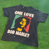 """One Love"" Bob Marley Tee - F as in Frank TO"