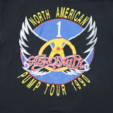 1990 Aerosmith Black Band Tee - F as in Frank TO