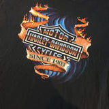"'95 Harley Davidson ""House of Harleys 1-800-4Harley"" T-Shirt - F as in Frank TO"