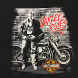 1990 Harley Davidson James Dean T-Shirt - F as in Frank TO