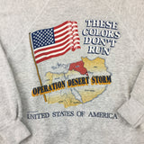 1990 Desert Storm Grey Crewneck - F as in Frank TO