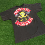 1990 Aerosmith Boston, MA T-Shirt - F as in Frank TO