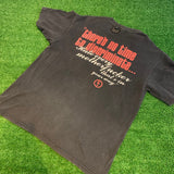 '90s Mairilyn Manson Tour T-Shirt - F as in Frank TO