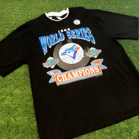 '92 Blue Jays World Series T-Shirt - F as in Frank TO