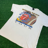 "'97 The Rolling Stones ""Bridge to Babylon"" T-Shirt - F as in Frank TO"