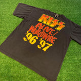 '96 KISS Alive World Tour T-Shirt - F as in Frank TO