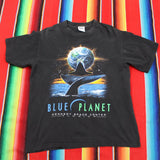 1990s Blue Planet Kennedy Space Center Florida Tshirt - F as in Frank TO