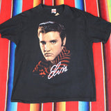 1990 Elvis Presley Tshirt - F as in Frank TO
