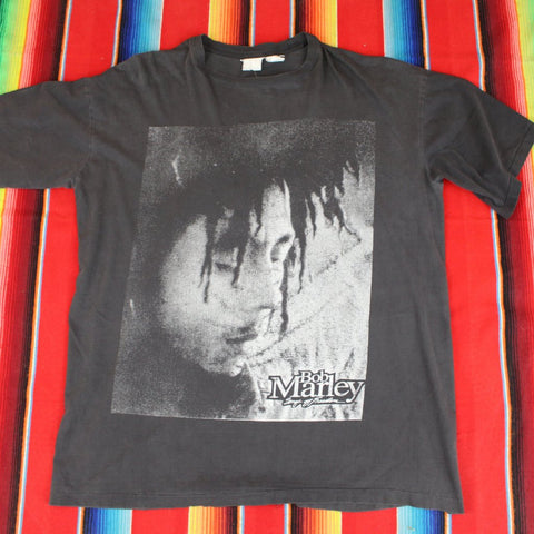 1990s Bob Marley Songs of Freedom Tshirt - F as in Frank TO