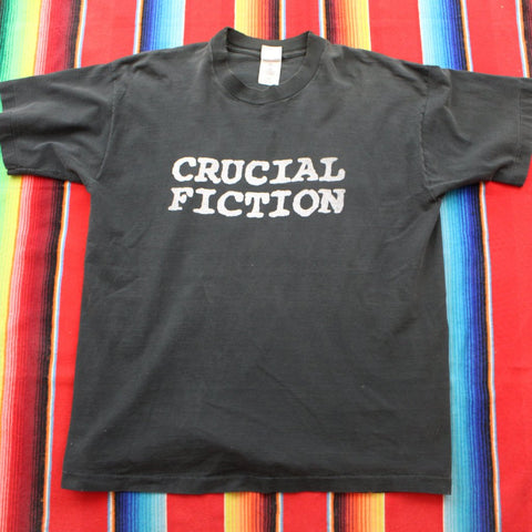 1990s Crucial Fiction Tshirt - F as in Frank TO