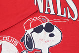 1989 St. Louis Cardinals Snoopy Tshirt - F as in Frank TO