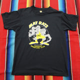 1980s Mat Rats Oshkosh Wrestling Club Tshirt - F as in Frank TO
