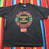 1990s Coca-Cola Black Colleges Satisfy My Thirst For Knowledge Tshirt - F as in Frank TO