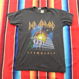 1983 Def Leppard Pryromania Tour Tshirt - F as in Frank TO