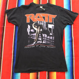 1985 Ratt Invasion of Your Privacy Tour Tshirt - F as in Frank TO