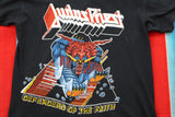 1984 Judas Priest Defenders of the Faith Tour Tshirt - F as in Frank TO