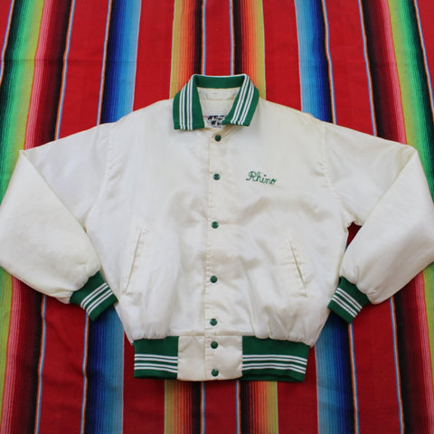 1980s Gathering of Eagles Satin Jacket - F as in Frank TO