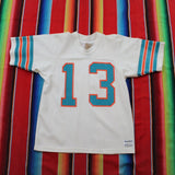 1980s Miami Dolphins Dan Marino Jersey - F as in Frank TO