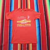 1987 UNLV Running Rebels Final Four Tshirt - F as in Frank TO