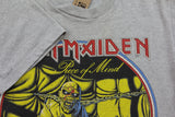 1983 Iron Maiden World Piece Tour Tshirt - F as in Frank TO