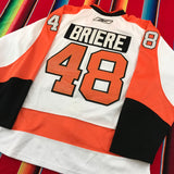 #48 Briere Philadelphia Hockey Jersey - F as in Frank TO