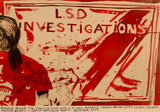 LSD Investigations, Abraham Lacalle & Miki Leal Poster