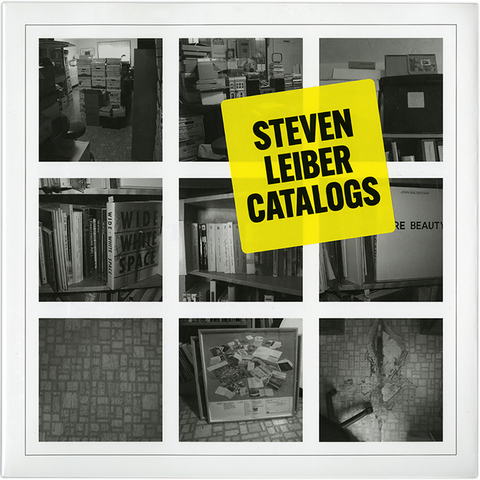 Steven Leiber Catalogs [Edited by David Senior]