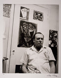 Charles Bukowski in De Longpre Apartment 1971 – Photograph by Sam Cherry