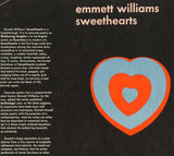 Unfolded Dust Jacket - Emmett Williams. Sweethearts