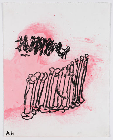 Kathleen Henderson - Out•takes Drawing #31