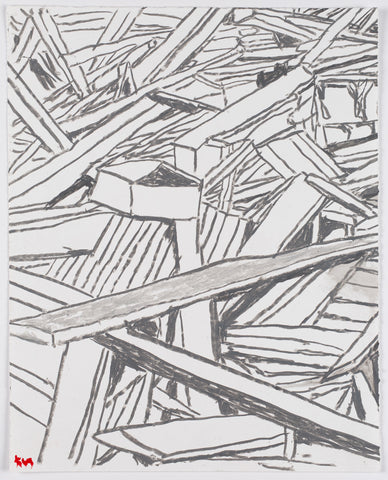 Kathleen Henderson - Out•takes Drawing #70