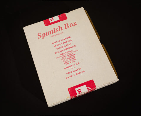 Spanish Box, 1996 January - July [multi artist multiple]