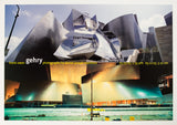 Frank Gehry, Flowing in All Directions Posters (Suite of 3), 2003