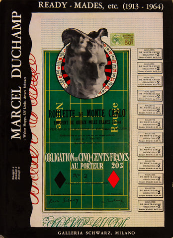Marcel Duchamp: Ready-Mades, etc. (1913-1964) by Walter Hopps, Linde [Hardcover w/DJ]