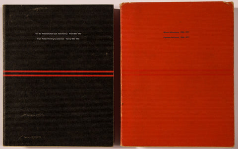 Viennese Actionism, 1960-1965 & From Action Painting to Actionism, Vienna 1960-1971 [2 Volumes - Softcover]