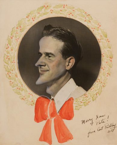Art Ridley, Christmas Card, 1937