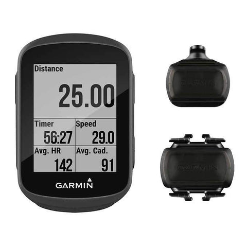 Garmin, Edge 130 Bundle, Computer, GPS: Yes, HR: Optional, Cadence: Yes, Black, 010-01913-05 - Cycle Technique