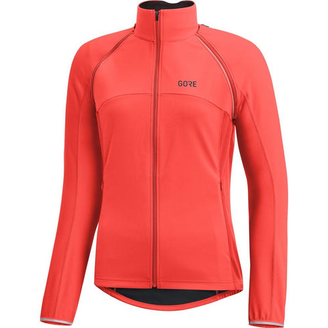 GORE C3 Women GORE WINDSTOPPER PHANTOM Zip-Off Jacket lumi orange S