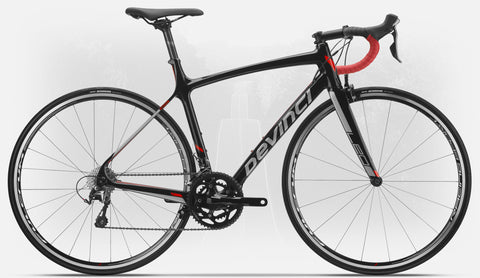 Devinci Leo 2020 Black/Silver/Red