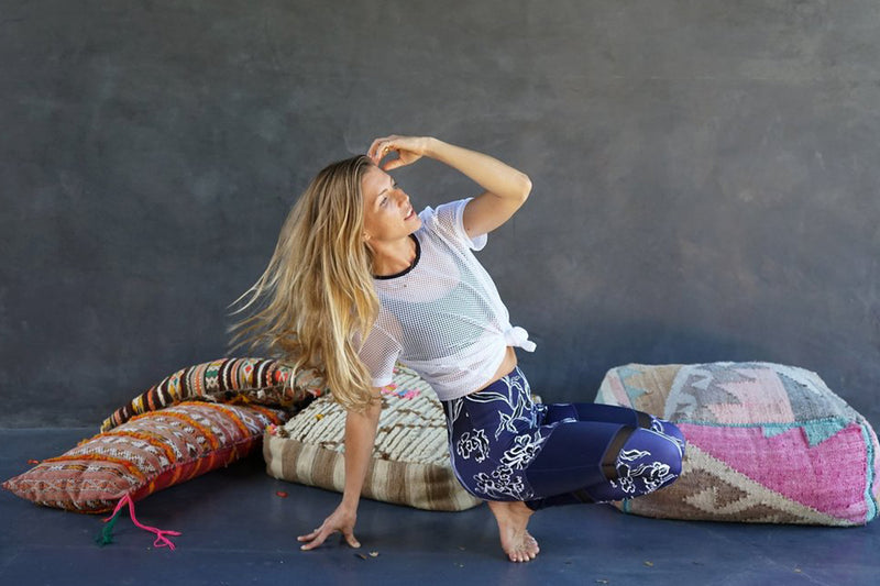 Yoga For Bad People's Heather Lilleston Shares Her Travel Beauty & Meditation Routine
