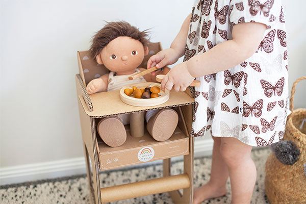 DIY | Make your own Dinkum Doll High Chair